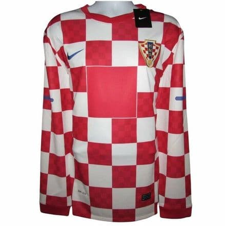 2010-2012 Croatia Player Issue Home Football Shirt, Nike, Original, XXL (*BNWT*)